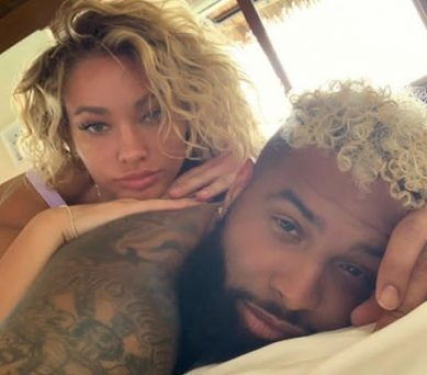 Odell BeckhamGoes Public With Girlfriend, Lauren Wood