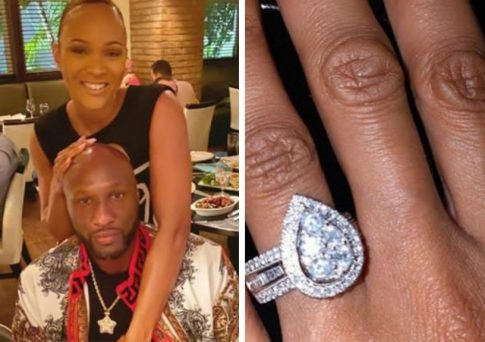 Khloe's Ex, Lamar Odom Proposes To Girlfriend, Sabrina Parr