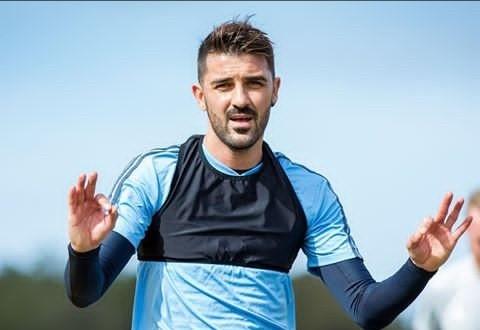 David Villa Announces His Retirement From Football