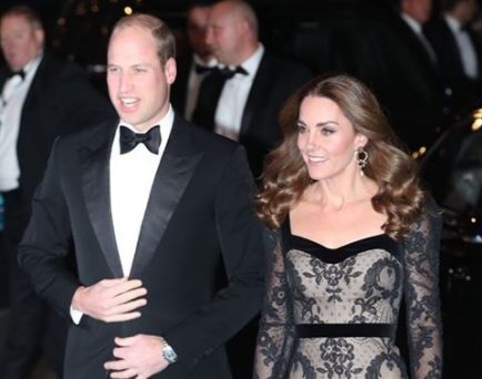 Royal Variety: Prince William And Kate Looking All Stylish For The Show