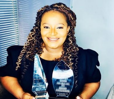 LifeBank: Temie Giwa thanks Buhari for recognizing her achievement