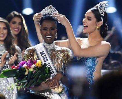 Miss South Africa Wins 2019 Miss Universe