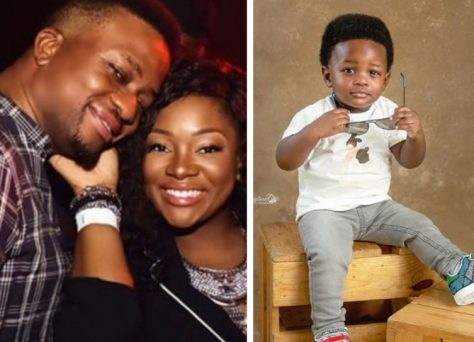 Toolz Oniru Shows Off Son's Face For The First Time On His Birthday