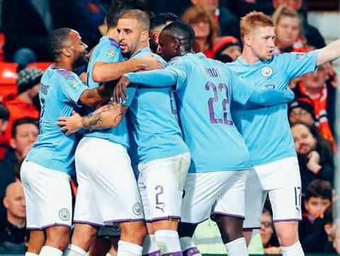 Carabao Cup: Man City Beats United 1-3 At Old Trafford