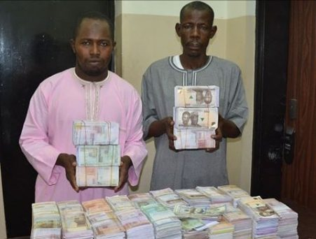 EFCC Arrest Currency Counterfeiters, Confiscates N45m Fake Notes