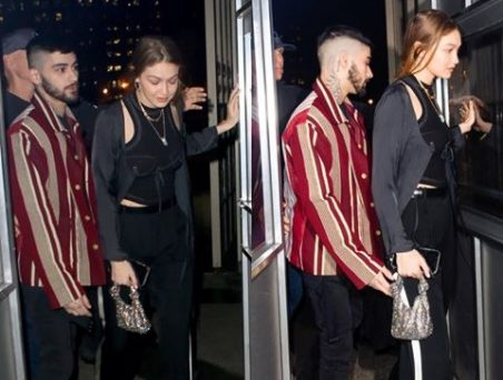 Gigi Hadid And Zayn Malik Spotted Together On His 27th Birthday