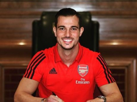 Arsenal Unveils Cedric Soares As Their New Signing
