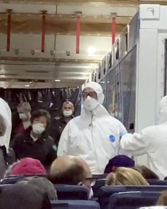Coronavirus: 328 Americans Fly Home From Japan