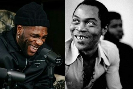 Nobody That Is Not Fela paved the way for me- Burnaboy Slams Critics
