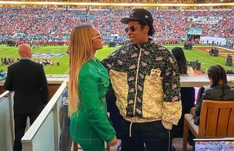 Super Bowl LIV: Beyonce And JayZ Accused Of Sitting During Anthem