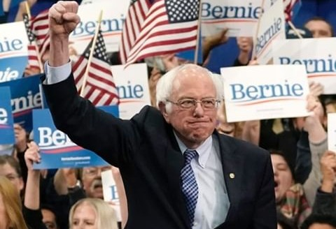 Senator Bernie Sanders Wins New Hampshire Primary