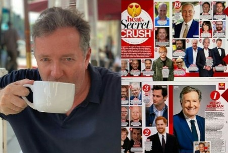 Piers Morgan Reacts To Winning NME's Villain Of The Year Award
