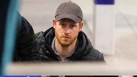 Duke Of Sussex Arrives U.K For Prince Philip's Funeral