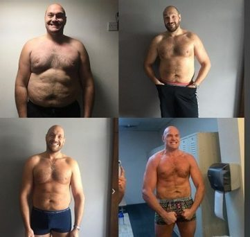 Tyson Fury Shows His Incredible Transformation Over 2-years