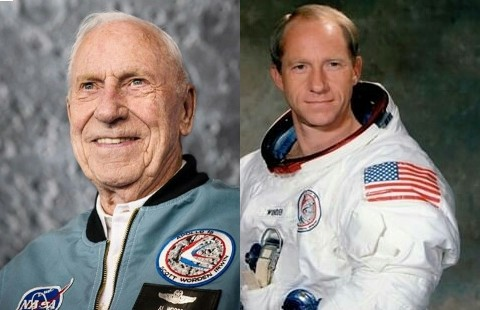 Al Worden Apollo 15 Astronaut Who Circled The Moon Dies At 88