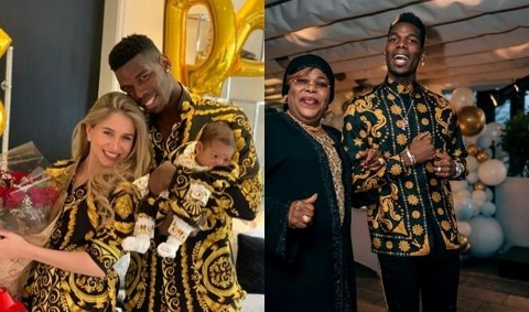 Mother's Day: Pogba Shares Sweet Message To His Mother And Wife