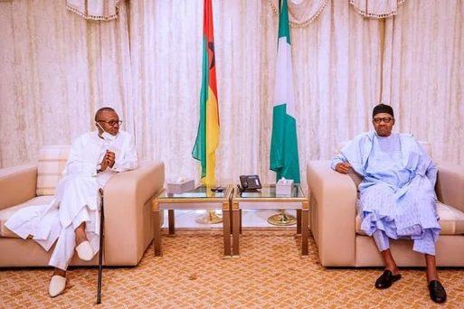 Buhari Receives President Embalo Of Guinea Bissau