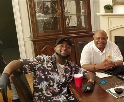 Davido Celebrates His Uncle, Senator Adeleke On His 60th Birthday
