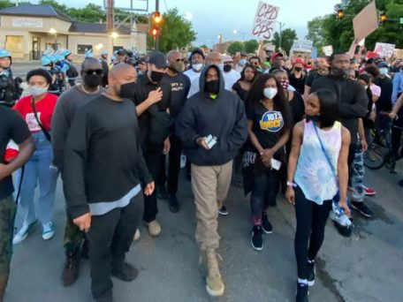 Kanye West Joins Chicago Protests, Makes Donation Of $2m