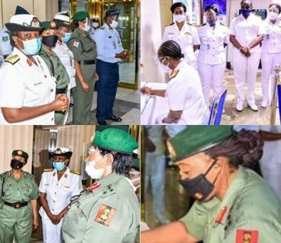 Tolulope Arotile: Female Generals Pay Condolence Visit To NAF