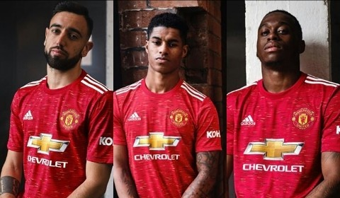 Adidas Unveils Manchester United Home Kit For 2020 2021 Season Yellowdanfo