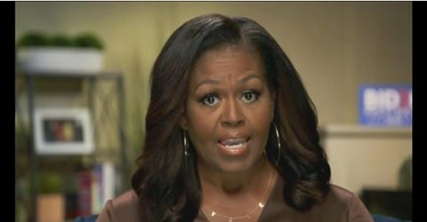 U.S Former First Lady Michelle Obama Condemns Riot At The Capitol
