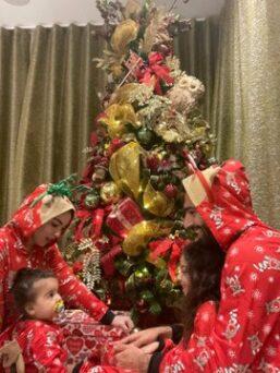 Mixed Reactions Trail Mo Salah's Family Christmas Photos