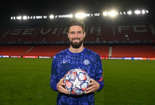 Frank Lampard Hails Olivier Giroud's Performance Against Sevilla