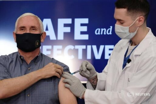Mike Pence And Family Receive Their COVID Vaccine On Live TV