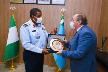NAF To Consolidate Partnership With Hungary On Ending Insurgency