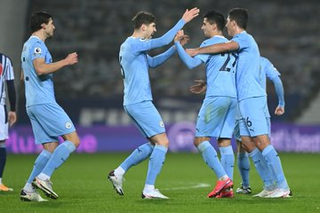 Manchester City Go Top After Thrashing West Brom 0-5