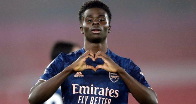 Bukayo Saka Shines As Arsenal Beat Southampton 1-3