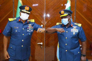 Outgoing CAS Sadique Hands Over To New CAS Oladayo Amao