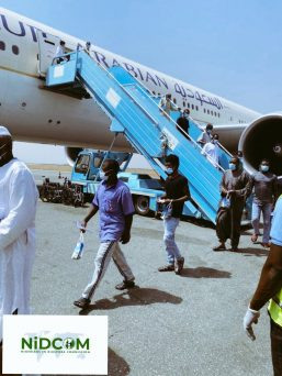 Breaking: 424 Stranded Nigerians Return From Saudi Arabia