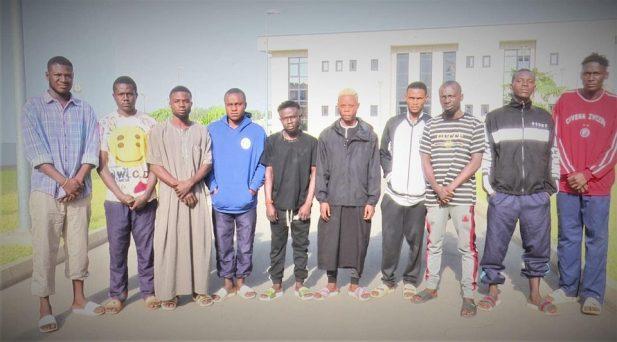 EFCC Arrests 10 Suspected Yahoo-Yahoo Students In Abuja