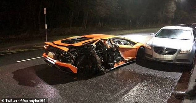 Lys Mousset Smashes His £300K Lamborghini Into Parked Cars
