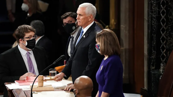 Pence Rejects Calls To Invoke 25th Amendment To Remove Trump