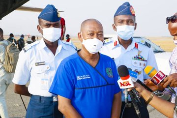 NAF Distributes More Liquid Oxygen To COVID-19 Isolation Centres