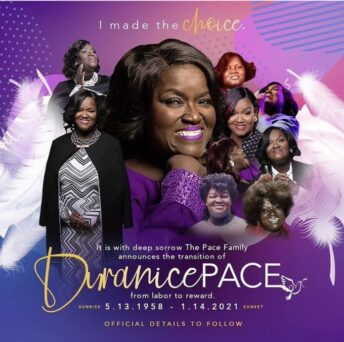 Duranice Pace: Gospel Singer Of The Pace Sisters, Dies At 62