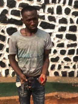 Police Arrest Suspect For Unlawful Possession Of Firearm