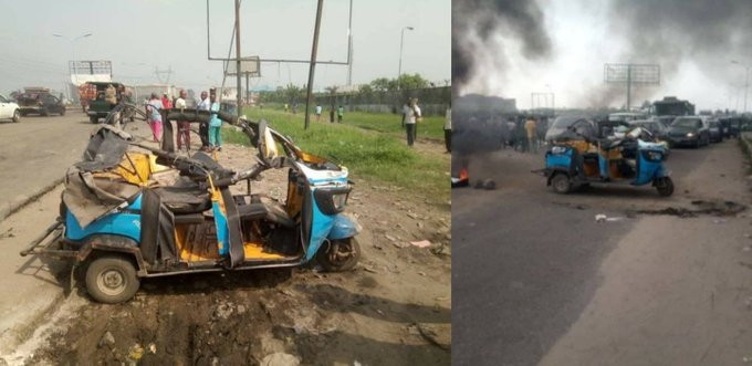 Police Denies Causing Accident That Killed Mother And Child In Warri