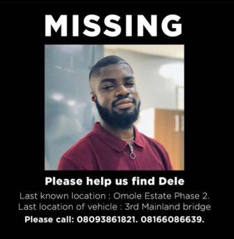 Dele Bandele: Man Missing Found Dead Of Apparent Suicide