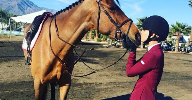 Kaley Cuoco Pays Tribute To Her Retiring Show Horse