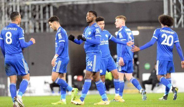 Kelechi Iheanacho Scores As Leicester Beat Fulham 0-2
