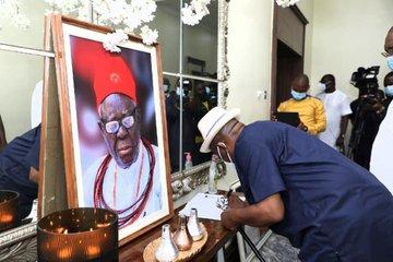 Pa Okowa: Wike Urges Okowa To Sustain Father's Legacy