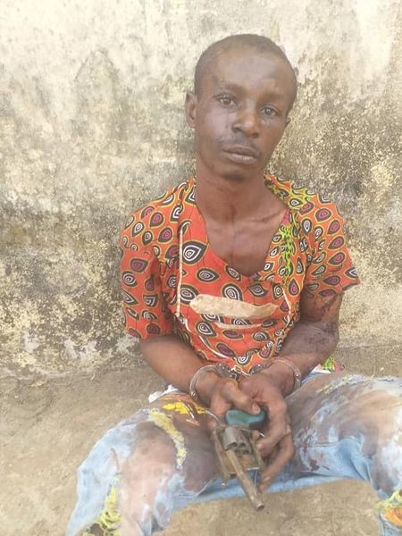 Man Known For Snatching Keke At Gunpoint Arrested