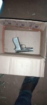 Police Discovers Pistol Inside A Recovered Stolen Vehicle