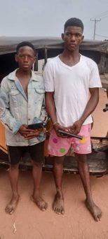 Two Armed Robbery Suspects Nabbed By Police In Awka