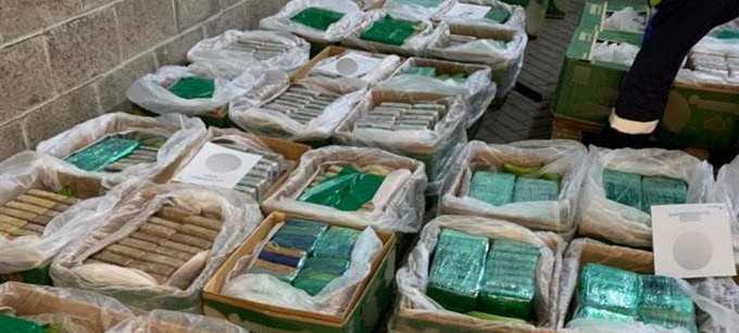 Ten Suspects Arrested Over 2.3 Tonnes Of Cocaine