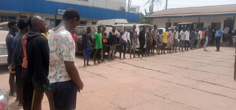 35 Suspects Nabbed By Police For Cultism
